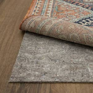 """Mohawk Home Dual Surface Felt and Latex Non Slip Rug Pad, 1/4"""" Thick, 2'6""""x8', Brown for $27"""