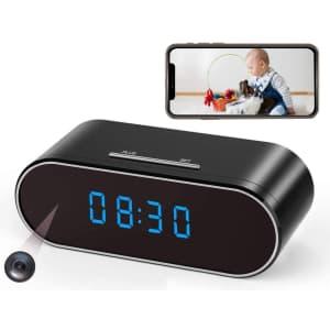 Imini88 Hidden Spy Camera Clock for $29