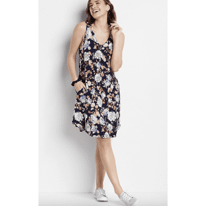 Maurices Women's 24/7 Floral Shift Dress for $7