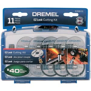 Dremel EZ Lock 11-Piece Cutting Kit for $15