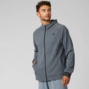 New Balance Men's NB Finisher FZ Hooded Jacket for $40