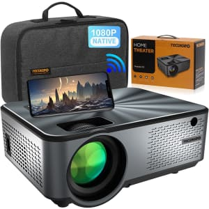 Tecdigbo 1080p WiFi Projector for $230