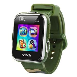 VTech KidiZoom Smartwatch DX2, Camouflage (Amazon Exclusive) for $48