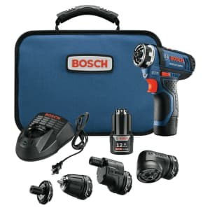 Bosch 12V Max. Brushless Flexiclick 5-In-1 Drill/Driver System for $107