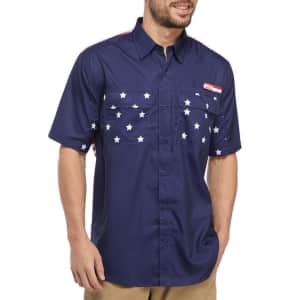 Ocean & Coast Men's Americana Fishing Shirt for $20