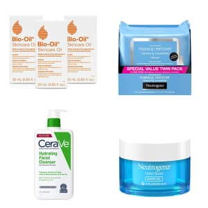 Skincare Items at Amazon: Buy 3, get an extra $5 off