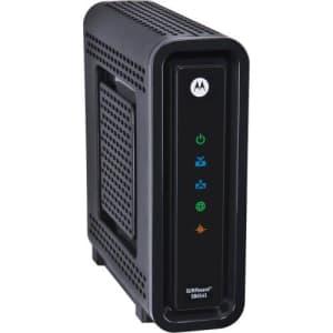 Motorola Surfboard SB6141 DOCSIS 3.0 High-Speed Cable Modem- Black (OEM Brown Box) for $49