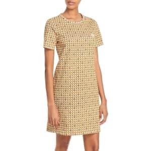 Tory Burch Women's Basket-Weave T-Shirt Dress for $159