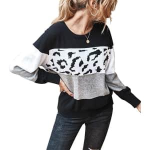 Prettygarden Women's Color Blocked Sweater for $20