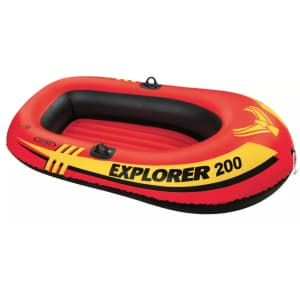 Intex Explorer 200 2-Person Inflatable Boat for $20
