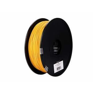 Monoprice PLA Plus+ Premium 3D Filament - Gold - 1kg Spool, 1.75mm Thick | Biodegradable | Same for $32