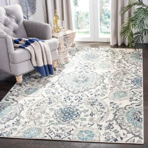 Safavieh Madison Collection 5x5-Foot Boho Chic Area Rug for $43