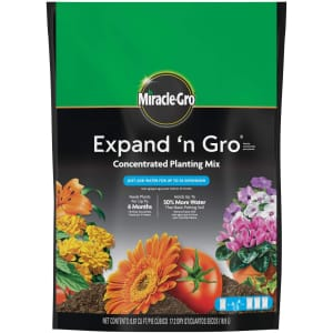 Miracle-Gro Expand 'N Gro Concentrated Planting Mix for $24
