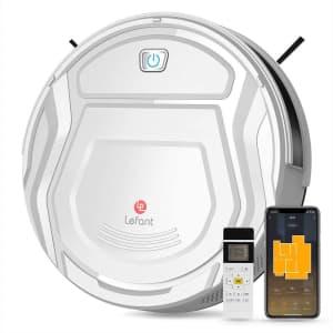 Lefant Robot Vacuum Cleaner for $91