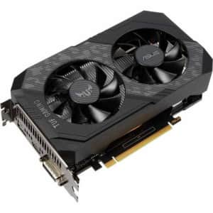 ASUS TUF Gaming NVIDIA GeForce GTX 1650 OC Edition Graphics Card (PCIe 3.0, 4GB GDDR6 Memory, HDMI, for $380