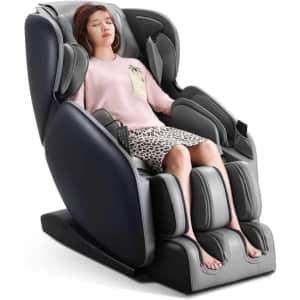 Naipo Zero Gravity Shiatsu Massage Recliner for $796
