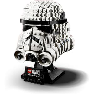 LEGO Star Wars Stormtrooper Helmet Building Kit for $48