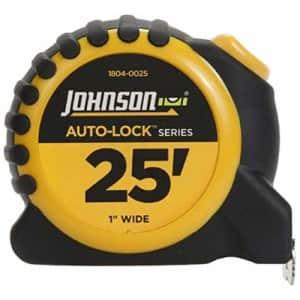 Johnson Level & Tool 1804-0025 1x25 Auto Tape Measure, for $9