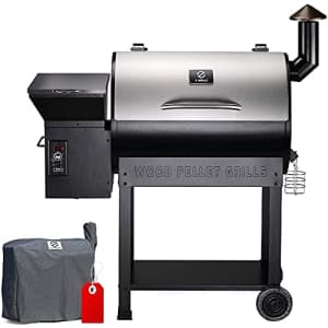 Z GRILLS 7002B2E Wood Pellet Grill & Electric Smoker BBQ Combo with Auto Temperature Control | 2021 for $553