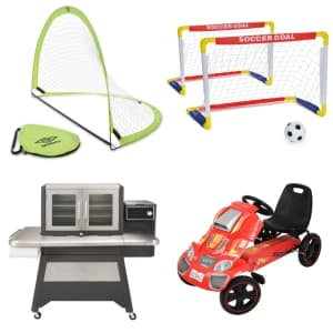 Walmart Outdoor Fun Savings: deals on grills, toys, tech, and more