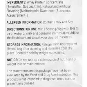 Myprotein Impact Whey Protein Powder, Vanilla, 5.5 Lb (100 Servings) for $59