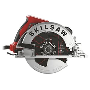 SKILSAW SPT67WMB-01 15 Amp 7-1/4 In. Magnesium Sidewinder Circular Saw with Brake for $138