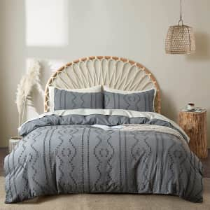 Bedazzled 3-Piece Duvet Cover Set from $27
