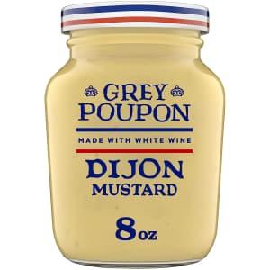 Grey Poupon Dijon Mustard 8-oz. Jar for $1.90 via Sub & Save