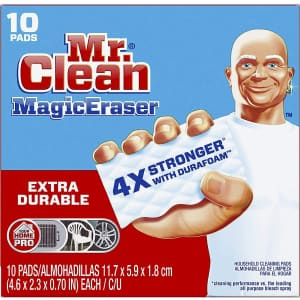 Mr. Clean Magic Eraser Cleaning Pads 10-Pack for $7.80 via Sub & Save