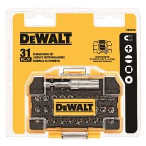 DeWalt 31-Piece Impact Ready Screwdriving Set for $16