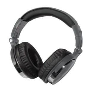 Blaupunkt BP1733 Premium Bluetooth Over-The-Ear Headphones with Microphone (Gray) for $53