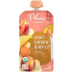 Plum Organics 4-oz. Stage 2 Organic Baby Food 12-Pack for $11 via Sub & Save