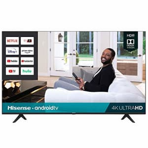 "Hisense 75H6570G 75"" 4K HDR LED UHD Android Smart TV (2020) for $640"