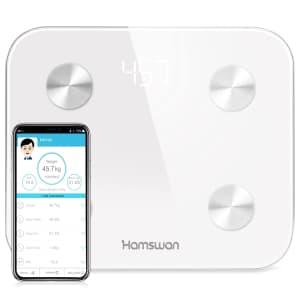Hamswan Bluetooth Digital Smart Scale for $20