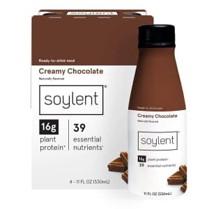 Soylent Complete Nutrition 11-oz. Meal Replacement Shake 12-Pack for $20