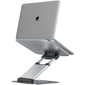 LKINT Adjustable Laptop Stand with Heat Vents for $30