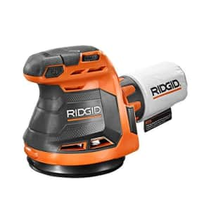 Ridgid R8606B GEN5X 18-Volt 5 in. Cordless Random Orbit Sander (Tool-Only, Battery and Charger NOT for $70