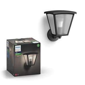 Philips Hue Inara White Outdoor Lantern, Wall Fixture & 1 Hue White A19 LED Smart Bulb, Use with for $143
