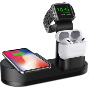 Deszon Apple Watch Wireless Charger Stand for $10