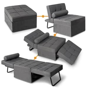 Good & Gracious Convertible Sleeper Chair / Ottoman for $244