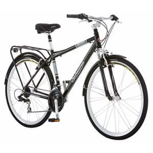 Schwinn Discover Hybrid Bike for Men and Women, 21-Speed, 28-inch Wheels, 18-inch/Medium Frame, for $590
