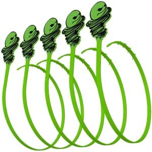 Green Gobbler Hair Grabber Drain Tool 5-Pack for $8