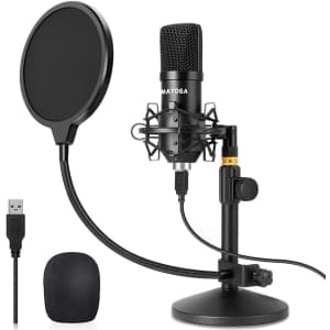 Mayoga USB Condenser Microphone for $27