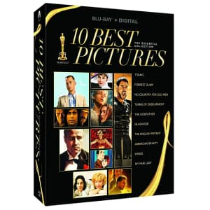 10 Best Pictures Blu-ray & Digital Boxset for $27