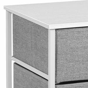 Sorbus Nightstand with 3 Drawers - Bedside Furniture & Accent End Table Chest for Home, Bedroom for $43