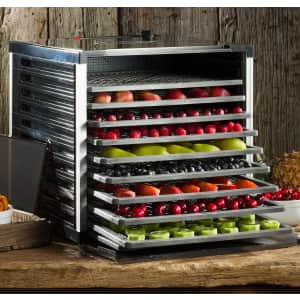 LEM Products LEM Mighty Bite 10-Tray Double Door Food Dehydrator for $153