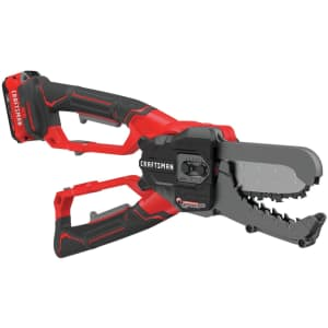 """Craftsman V20 6"""" Cordless Chainsaw Lopper for $120 in cart"""