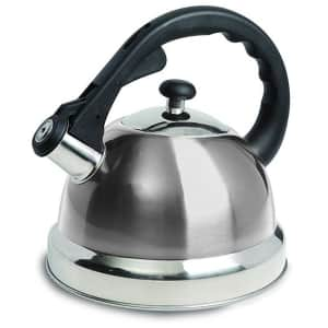 Mr. Coffee Claredale 1.7-Quart Whistling Tea Kettle for $13