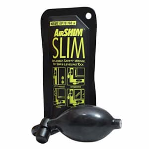 Calculated Industries 1180 Airshim Slim Inflatable Elevator Door Safety Wedge & Pry bar & Leveling for $15