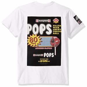 Southpole Men's Tootsie T-Shirt, White Back, Medium for $18